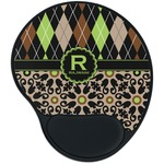 Argyle & Moroccan Mosaic Mouse Pad with Wrist Support