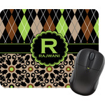 Argyle & Moroccan Mosaic Mouse Pad (Personalized)