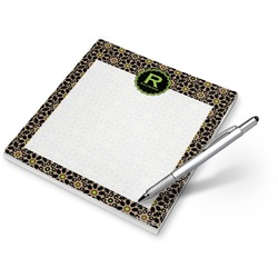 Argyle & Moroccan Mosaic Notepad (Personalized)