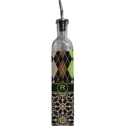 Argyle & Moroccan Mosaic Oil Dispenser Bottle (Personalized)