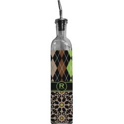 Argyle & Moroccan Mosaic Oil Dispenser Bottle (Personalized)