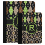 Argyle & Moroccan Mosaic Padfolio Clipboard (Personalized)