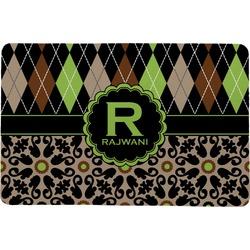 Argyle & Moroccan Mosaic Comfort Mat (Personalized)