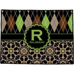 Argyle & Moroccan Mosaic Door Mat (Personalized)