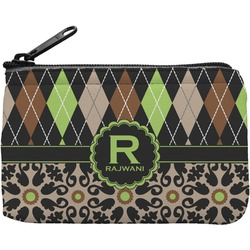 Argyle & Moroccan Mosaic Rectangular Coin Purse (Personalized)