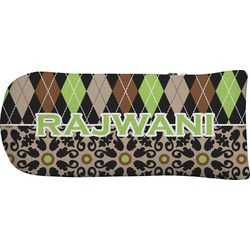 Argyle & Moroccan Mosaic Putter Cover (Personalized)