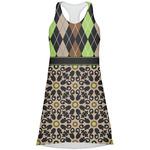 Argyle & Moroccan Mosaic Racerback Dress (Personalized)