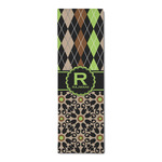 Argyle & Moroccan Mosaic Runner Rug - 3.66'x8' (Personalized)