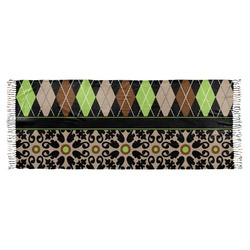 Argyle & Moroccan Mosaic Faux Pashmina Scarf (Personalized)