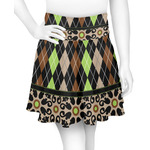 Argyle & Moroccan Mosaic Skater Skirt (Personalized)