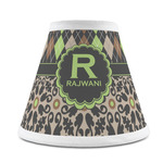 Argyle & Moroccan Mosaic Chandelier Lamp Shade (Personalized)