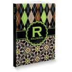 Argyle & Moroccan Mosaic Softbound Notebook (Personalized)