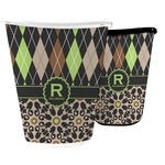 Argyle & Moroccan Mosaic Waste Basket (Personalized)