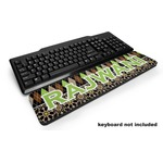 Argyle & Moroccan Mosaic Keyboard Wrist Rest (Personalized)