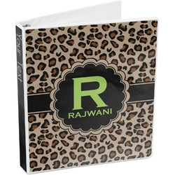 Granite Leopard 3-Ring Binder (Personalized)