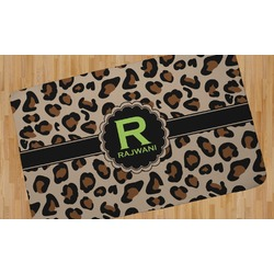 Granite Leopard Area Rug (Personalized)