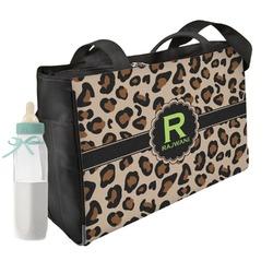 Granite Leopard Diaper Bag w/ Name and Initial