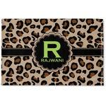 Granite Leopard Woven Mat (Personalized)