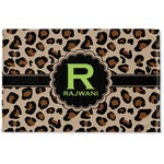 Granite Leopard Woven Mat (Personalized)