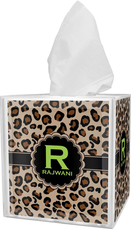 Granite Leopard Tissue Box Cover (Personalized ...