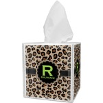 Granite Leopard Tissue Box Cover (Personalized)