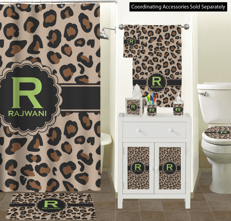 Curtain Sizes The Granite Collection Leopard Bathroom Scene