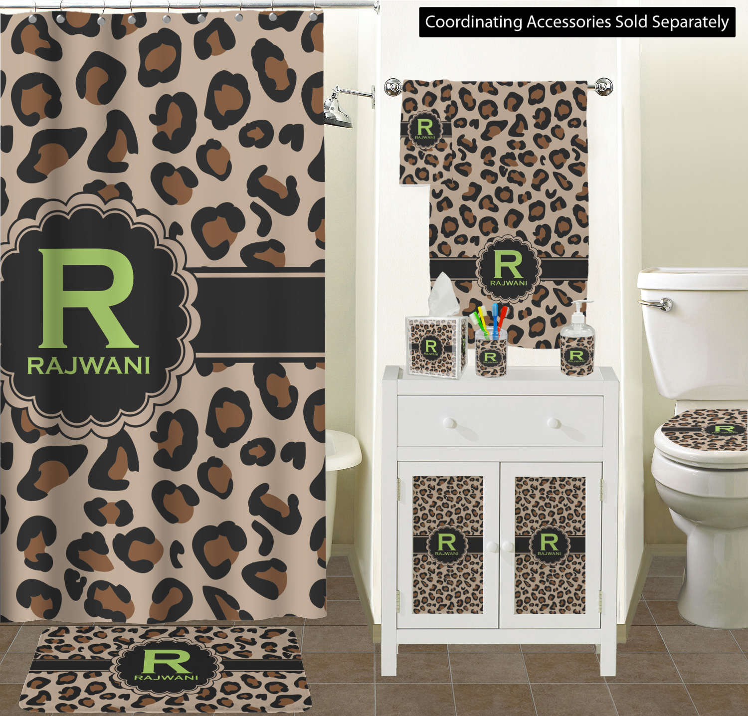 Curtain Sizes The Granite Collection Leopard Bathroom Scene