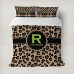 Granite Leopard Duvet Cover (Personalized)