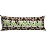 Granite Leopard Body Pillow Case (Personalized)
