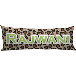 Granite Leopard Body Pillow Case (Personalized)