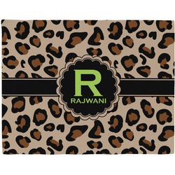 Granite Leopard Placemat (Fabric) (Personalized)