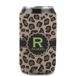 Granite Leopard Can Sleeve (12 oz) (Personalized)