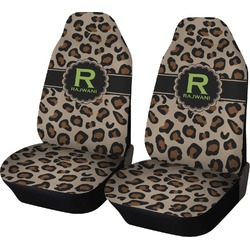 Granite Leopard Car Seat Covers (Set of Two) (Personalized)