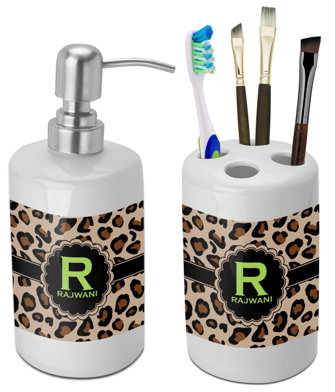Leopard Bathroom Set - Bathroom Decorating Ideas