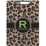 Granite Leopard Clipboard (Personalized)