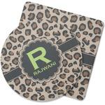 Granite Leopard Rubber Backed Coaster (Personalized)