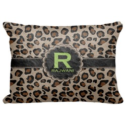 "Granite Leopard Decorative Baby Pillowcase - 16""x12"" (Personalized)"