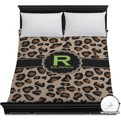 Granite Leopard Duvet Cover (Personalized)
