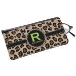 Granite Leopard Genuine Leather Eyeglass Case (Personalized)