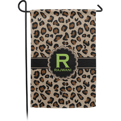 Granite Leopard Single Sided Garden Flag (Personalized)