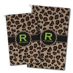 Granite Leopard Golf Towel - Full Print w/ Name and Initial