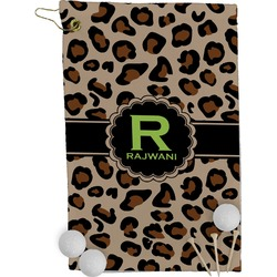 Granite Leopard Golf Towel - Full Print (Personalized)