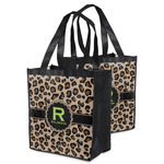 Granite Leopard Grocery Bag (Personalized)