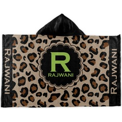 Granite Leopard Kids Hooded Towel (Personalized)