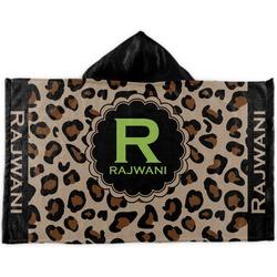 Granite Leopard Kids Hooded Towel (Personalized)