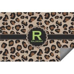 Granite Leopard Indoor / Outdoor Rug (Personalized)
