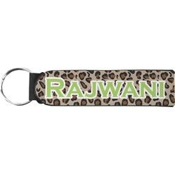 Granite Leopard Neoprene Keychain Fob (Personalized)