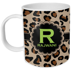 Granite Leopard Plastic Kids Mug (Personalized)