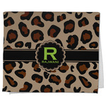 Granite Leopard Kitchen Towel - Full Print (Personalized)