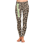 Granite Leopard Ladies Leggings (Personalized)